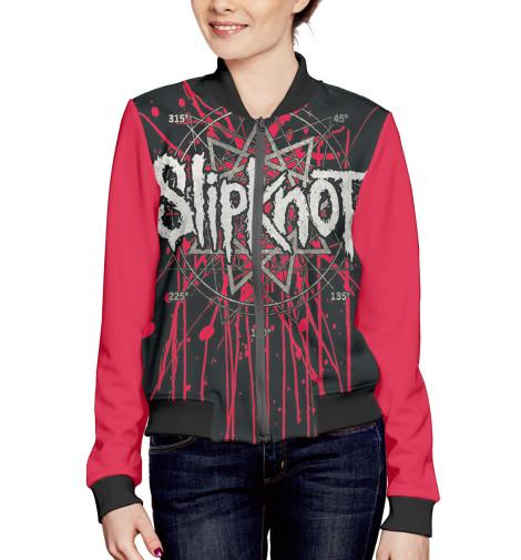 Бомбер Print Bar Slipknot бомбер printio мода 2017