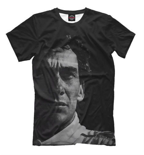 Футболка Print Bar Ayrton Senna senna senna se028lwhf055
