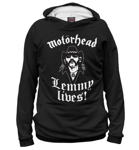 Худи Print Bar Motorhead. Lemmy Lives. print bar motorhead