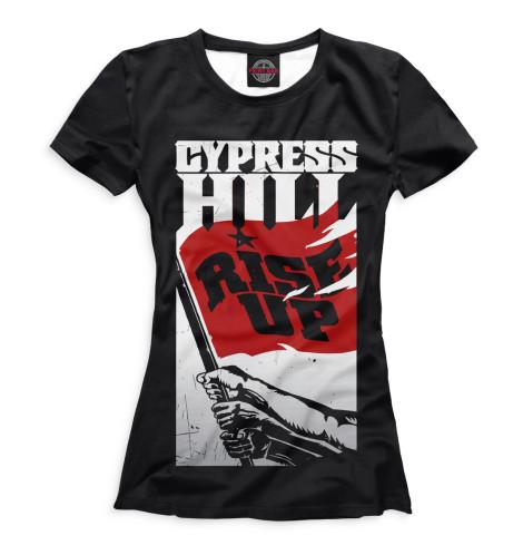 Женская футболка Cypress Hill