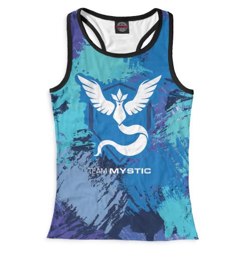 Майка борцовка Print Bar Team Mystic худи print bar mystic pokemon team
