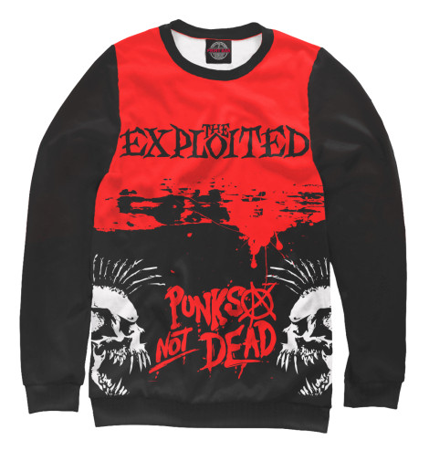 Свитшот Print Bar The Exploited the exploited the exploited apocalypse tour 1981 limited edition lp