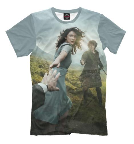 Фото - Мужская футболка Чужестранка от Print Bar белого цвета