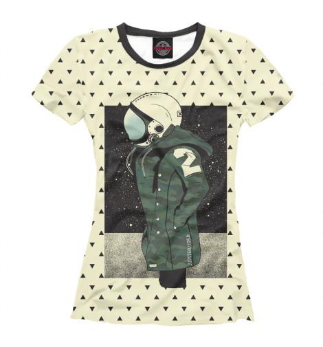 Купить Женская футболка Космическая мода HIP-524126-fut-1