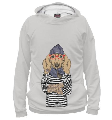 Купить Худи для девочки Таксы Boy and Girl DOG-100473-hud-1