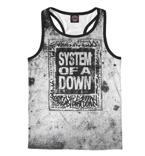 Майка борцовка Print Bar System Of A Down майка классическая printio system of a down