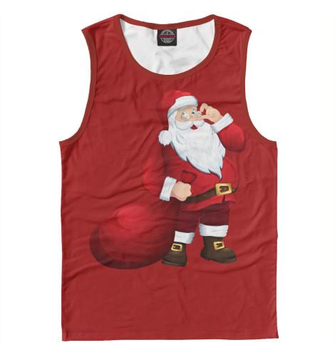 Майка Print Bar Дед Мороз худи print bar дед мороз я хочу верить
