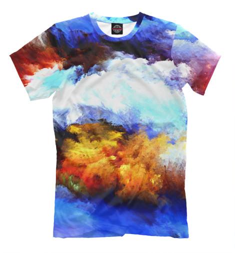 Мужская футболка Абстракция MAC-306813-fut-2  - купить со скидкой