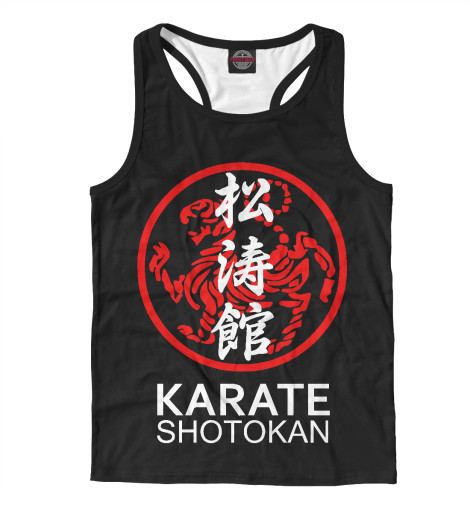 Майка борцовка Print Bar Karate Shotokan karate kata applications
