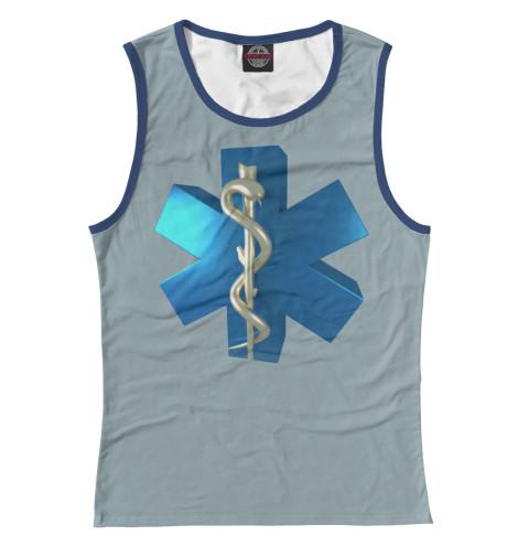 Майка Print Bar Звезда жизни футболка print bar спасаю жизни