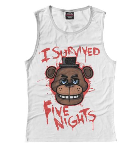 Майка Print Bar Five Nights at Freddy's подушка printio five nights at freddy s файф найт эт фредди