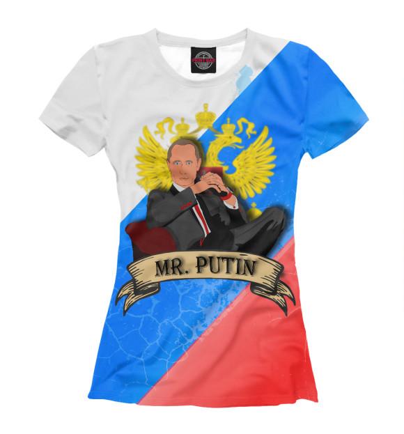 Купить Женская футболка Mr. PUTIN PUT-683102-fut-1
