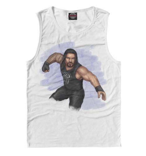Майка Print Bar WWE: Роман Рейнс свитшот print bar wwe сет роллинс