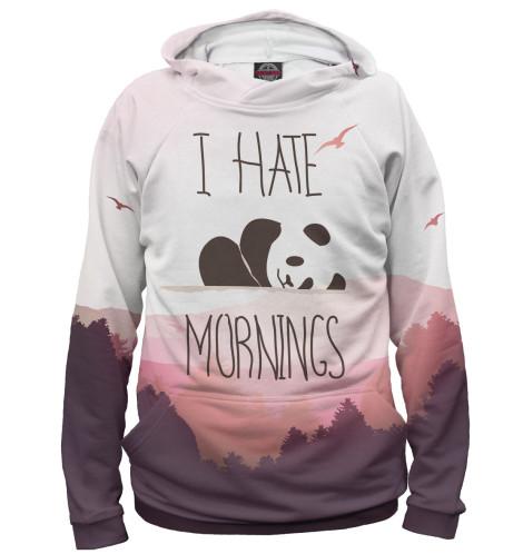 Женское худи I Hate Mornings