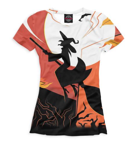 Купить Женская футболка Halloween HAL-665243-fut-1