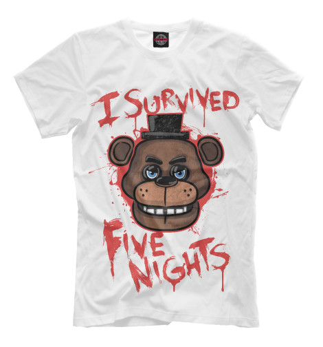 Футболка Print Bar Five Nights at Freddy's футболка рингер printio пять ночей у фредди