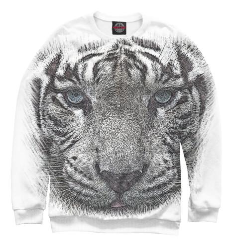Свитшот Print Bar Белый тигр стоимость