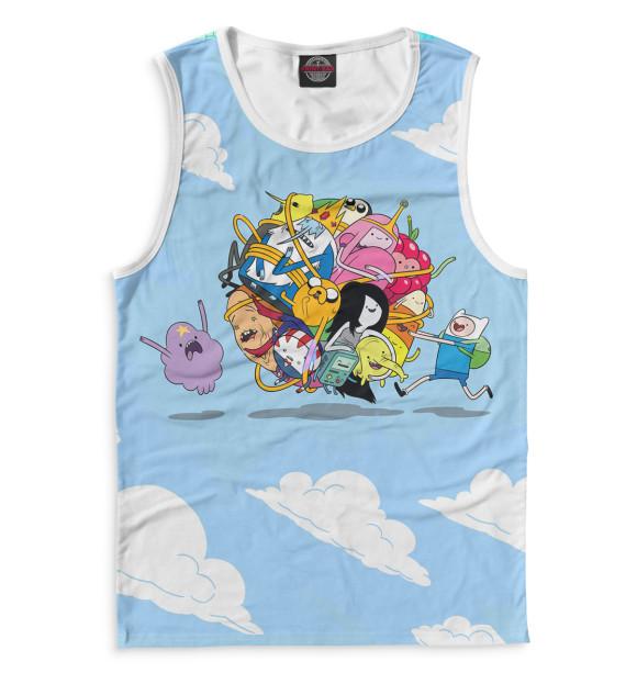 Купить Мужская майка Adventure Time ADV-299312-may-2