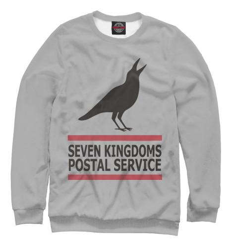 Свитшот Print Bar Почта Семи Королевств двенадцать королевств сказание четвертое