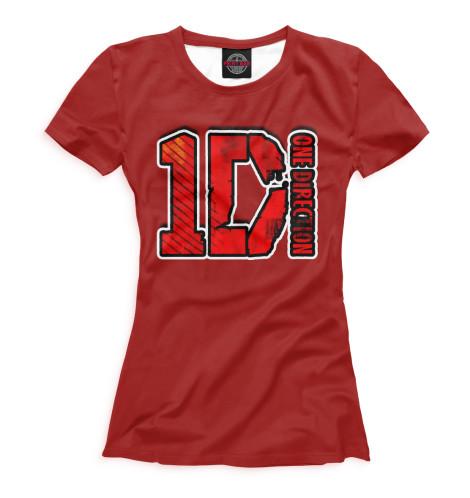 Футболка Print Bar One Direction тетрадь на скрепке printio i want to write you a song one direction mitam