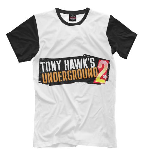 Футболка Print Bar Tony-hawks-underground-2 наклейки tony 2 74 alfa romeo mito 147 156 159 166 giulietta gt