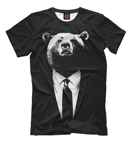 Футболка Print Bar Медведь бизнесмен футболка print bar shogun assassin