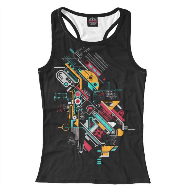 Купить Майка для девочки Machinery APD-782462-mayb-1