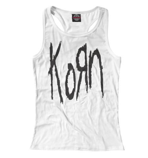 Майка борцовка Print Bar KoRn Logo майка борцовка print bar honda logo