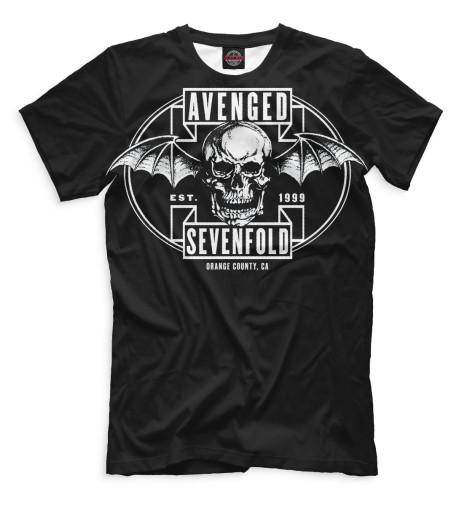Мужская футболка Avenged Sevenfold
