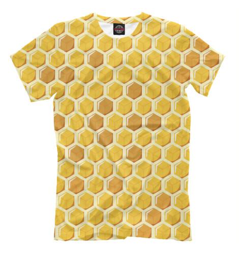 Футболка Print Bar Медовые соты худи print bar медовые соты