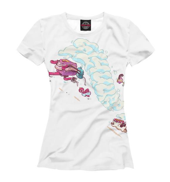 Купить Женская футболка Бег PSY-640141-fut-1