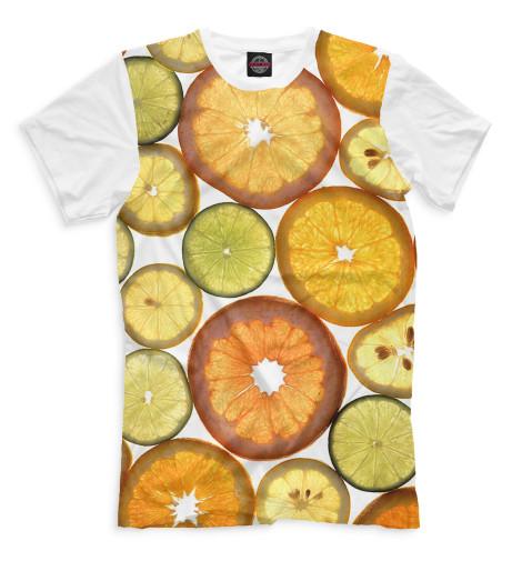 Мужская футболка Цитрусовые