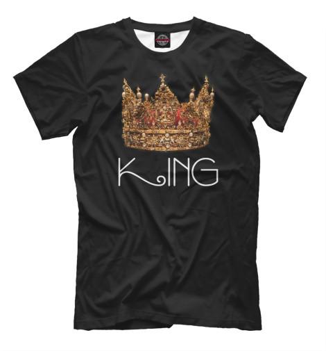 Мужская футболка King Print Bar MZH-903904-fut-2