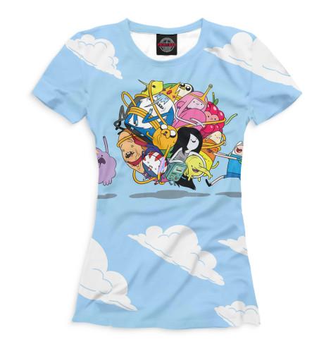 Женская футболка Adventure Time