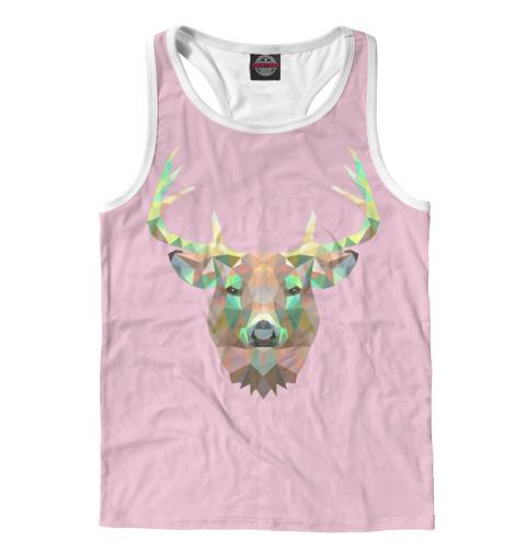 Майка борцовка Print Bar The Deer майка print bar oh my deer