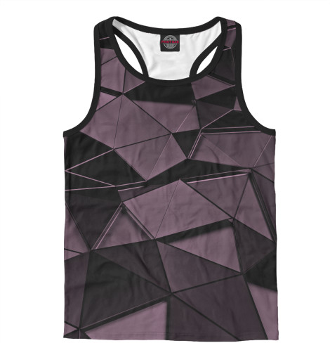 Майка борцовка Print Bar Fashion geometry футболка print bar fashion geometry