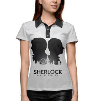 Женское поло Sherlock Limited Edition