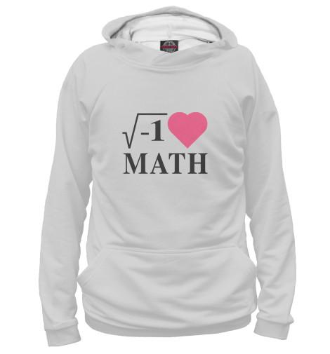 Худи Print Bar Я люблю Математику