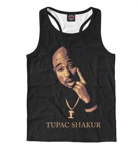 Майка борцовка Print Bar TUPAC SHAKUR майка борцовка print bar tupak shakur