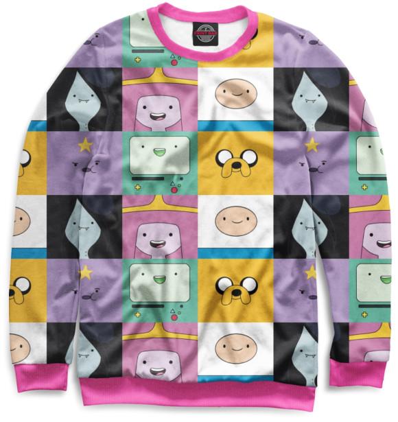 Мужской свитшот Adventure Time ADV-895138-swi-2  - купить со скидкой