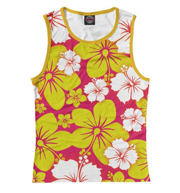 Купить Женская майка Цветочный CVE-226060-may-1