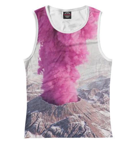 Майка Print Bar Розовый вулкан кронштейн опоры вулкан vr 500x500 нерж304