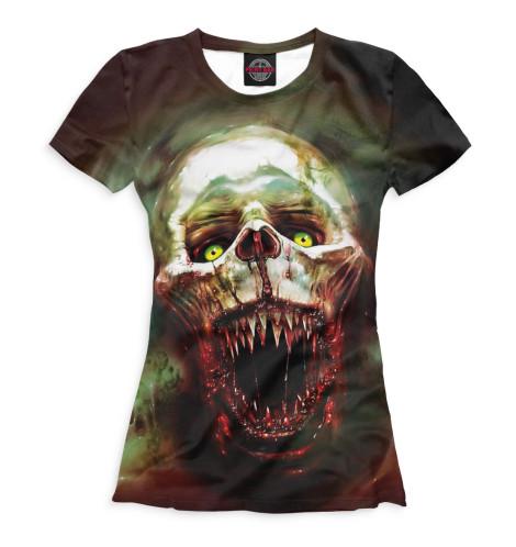 Женская футболка Хоррор
