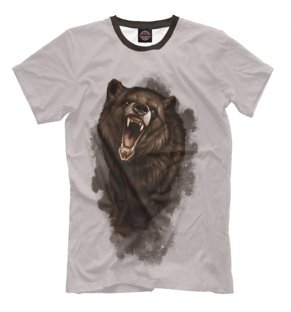 Купить Мужская футболка Бурый медведь MED-521009-fut-2