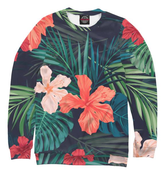 Купить Женский свитшот Tropical island CVE-100239-swi-1