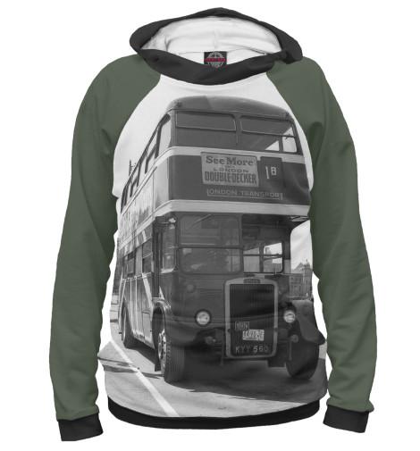Худи Print Bar Англия. Лондон. Автобус. восток и запад англия и лондон страна жемчуга