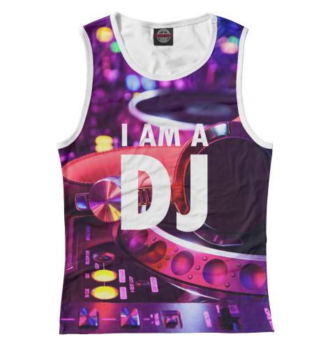 Майка Print Bar I am a DJ майка print bar i dj