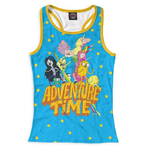 Женская майка-борцовка Adventure Time