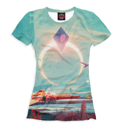 Купить Женская футболка No Man's Sky NMS-118196-fut-1