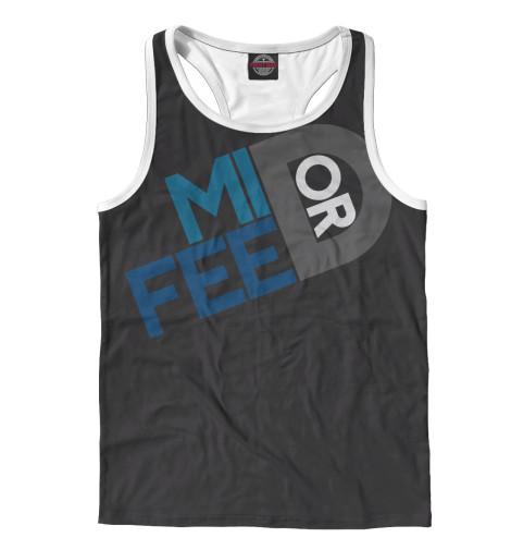 Майка борцовка Print Bar Mid or feed футболка print bar mid or feed